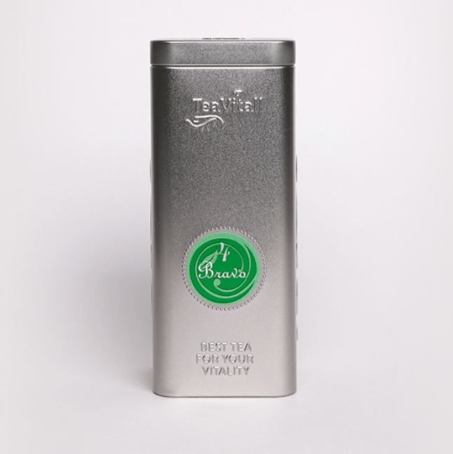 Teavitall Bravo 4, металлическая банка 100 г