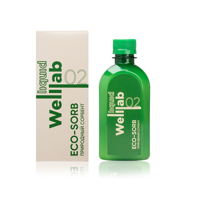 WELLLAB LIQUID ECO-SORB/ Природный сорбент